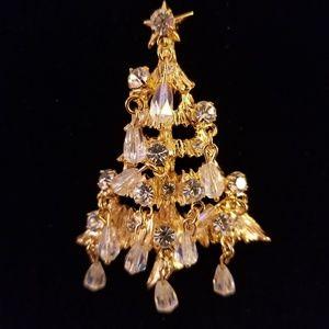 Kirk's Folly Christmas Tree Pin